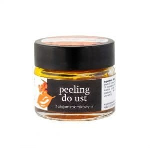 Peeling do ust z olejem rokitnikowym 20ml YOUR NATURAL SIDE