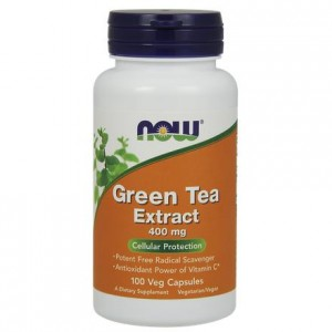 Green Tea Extract 400mg NOW FOODS 100 kaps