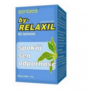 By-Relaxil SANBIOS 500mg 60 tabl