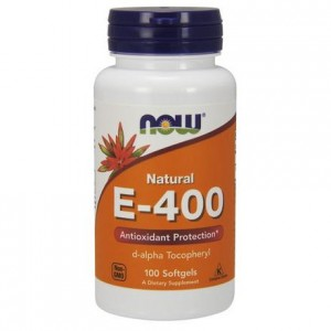 Witamina E-400 naturalna NOW FOODS 100 kaps