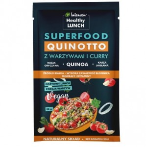 Quinotto (risotto z quinoa) z warzywami i curry INTENSON 80g